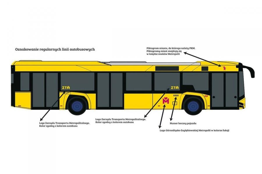 0eccfa5c7fb43c Autobusy będą przeważnie żółte, na liniach specjalnych - fuksjowe. Tramwaje  pojadą czerwone, a trolejbusy - żółto-zielone.